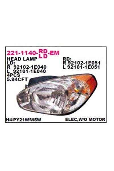 Hyundai Accent Era 06 Ön Far Lambası Sarı Sinyal Sol Depo 2211140