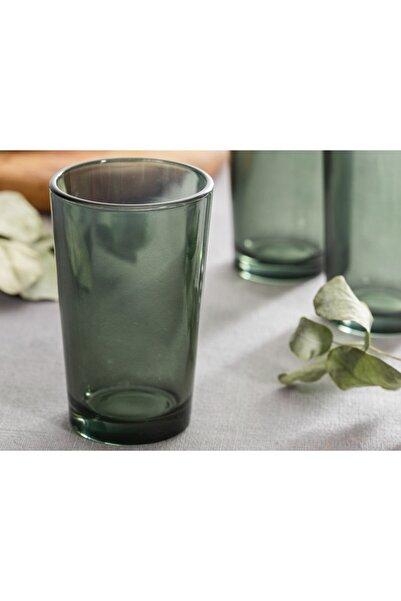 English Home Pia Cam 6'lı Kahve Yanı Su Bardağı 100 Ml Yeşil