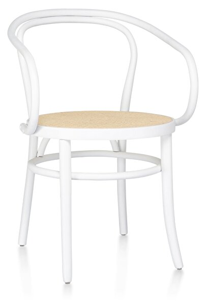 Albanis Thonet No: 304 Ahşap Hazeranlı Kolçaklı Sandalye