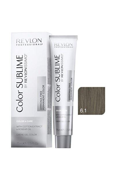 Revlon Issimo Color Sublime Color & Care 6.1 Koyu Kumral Küllü