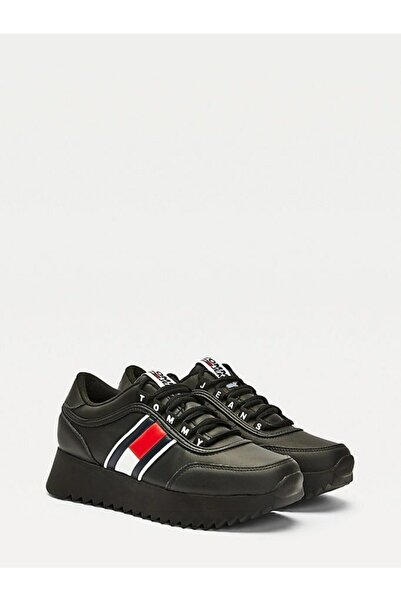 Tommy Hilfiger Kadın Tj High Cleated Sneaker