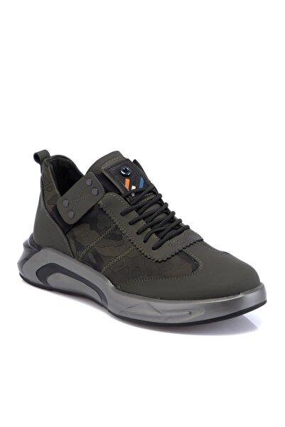 Tergan Haki Deri-tekstil Erkek Ayakkabı 54905n5p