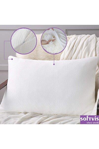 Softvis %100 Ortopedik & Ergonomik Visco Kırpık Yastık