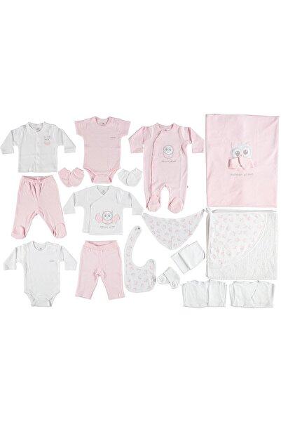 Bibaby Kız Bebek Pembe Hastane Çıkışı 20 Li Set