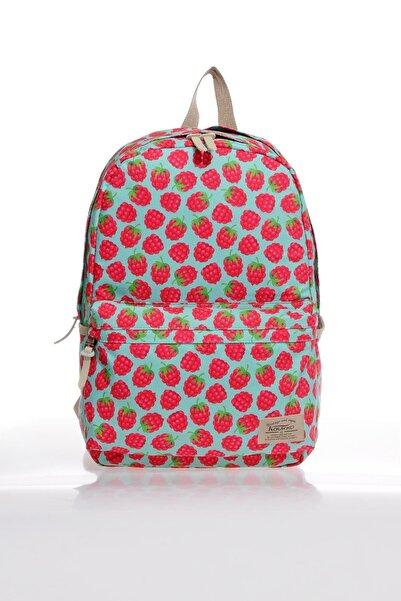 KAUKKO K1133 Rasp Berry Kadın Sırt Çantası