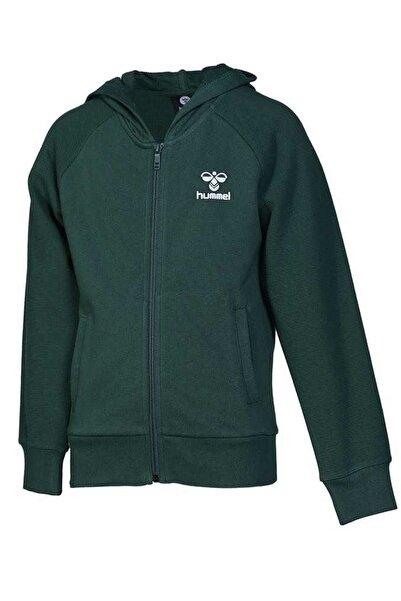 HUMMEL Çocuk Kalliste Fermuarlı Yeşil Sweatshirt 920990-9972