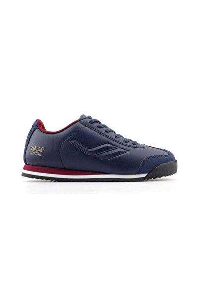 Lescon L-6125 Beyaz Kadın Sneaker Ayakkabı-lacivert