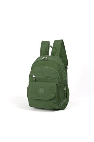SMART BAGS Orta Boy Kadın Sırt Çantası 1187 Yeşil