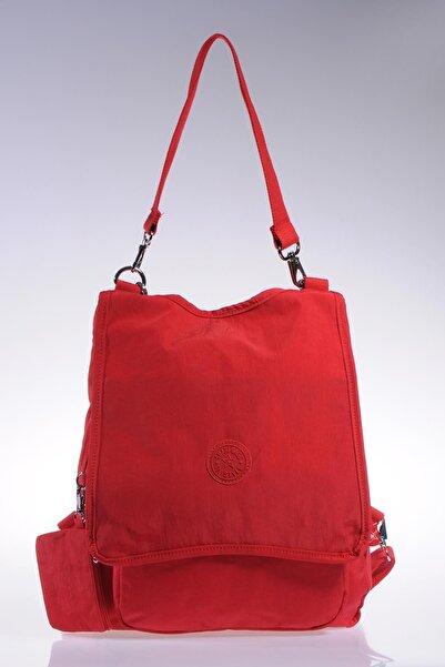 SMART BAGS Smb1119-0019 Kırmızı Kadın Sırt Çantası