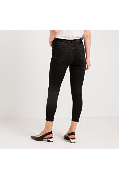 Mustang Perfect Shape Kadın Jean Pantolon Siyah