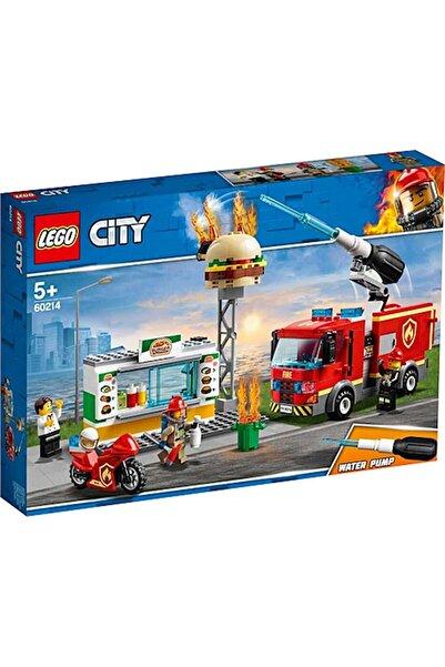 LEGO -60214 City Hamburgerci Yangın Söndürme Operasyonu