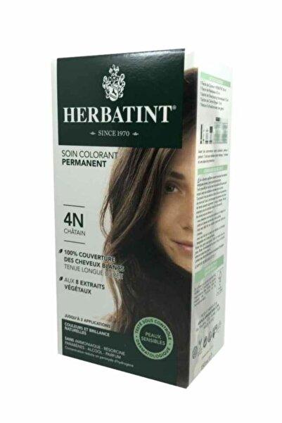 Herbatint Kalıcı Bitkisel Saç Bakım Boyası - Renk 4n Kestane 150 ml 8016744500043