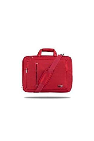 Kırmızı Ul162 15,6 Inç Uyumlu Laptop Notebook El Çantası