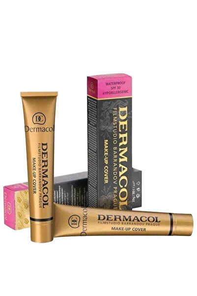 Dermacol Makeup Cover Fondoten 30ml Spf30 207 16392/3