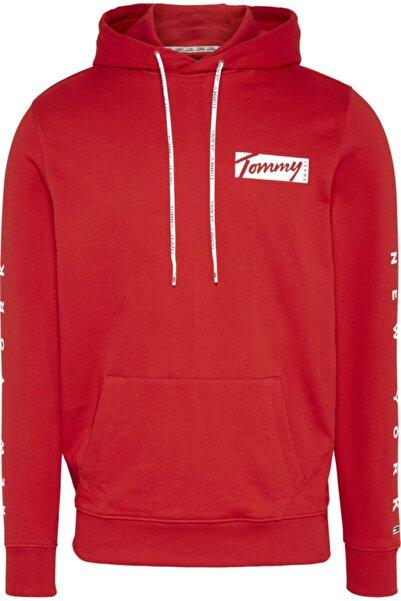 Tommy Hilfiger Erkek Tj Essential Kapüşonlu Sweatshirt
