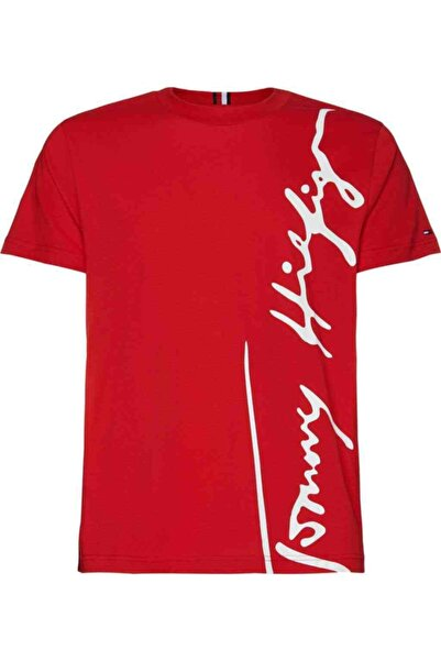 Tommy Hilfiger Th Erkek Cool Large Signature T-shirt
