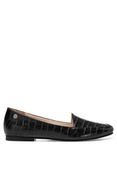 Nine West MELANIT3 Siyah Kadın Loafer Ayakkabı 101030263