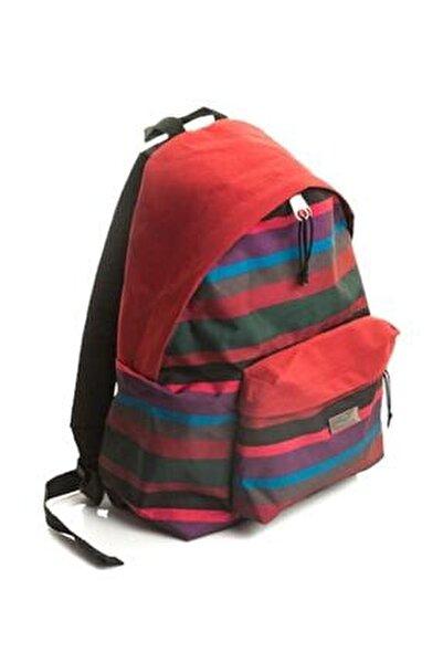 Faber-castell Basic Style Okul Çantası Örgü Desenli Bordo 5177190120000