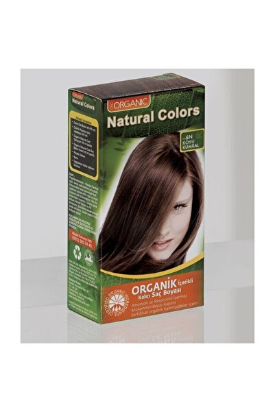Organic Natural Colors Natural Colors 6n Koyu Kumral Organik Saç Boyası