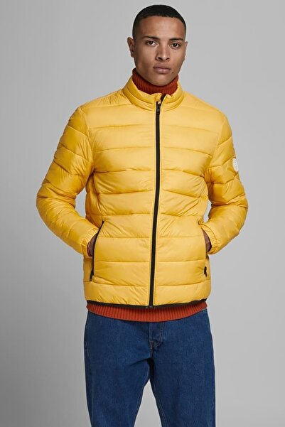 Jack & Jones Jjemagıc Puffer Erkek Mont Yolk Yellow