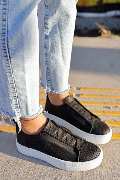 Chekich Ch011 Bt Kadın Ayakkabı Sıyah