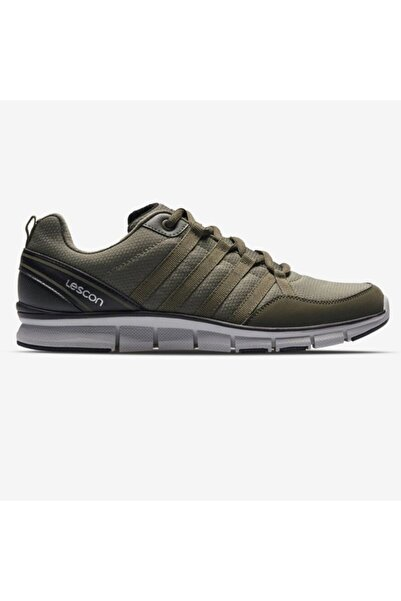 Lescon Yeşil Erkek Flex Spor Ayakkabı L-6524 -