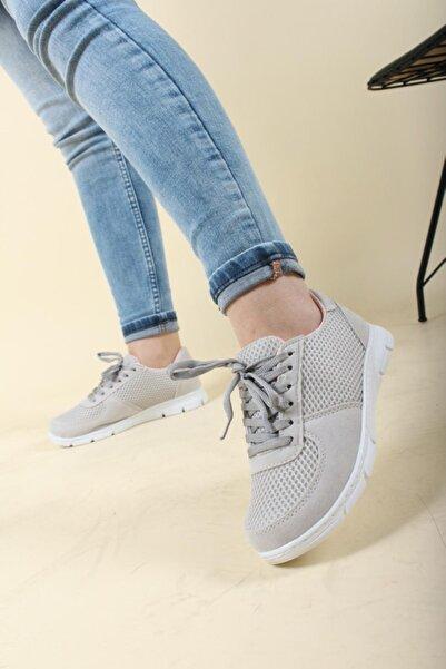 Oksit Leo 2020 Fileli Kadın Spor Ayakkabı