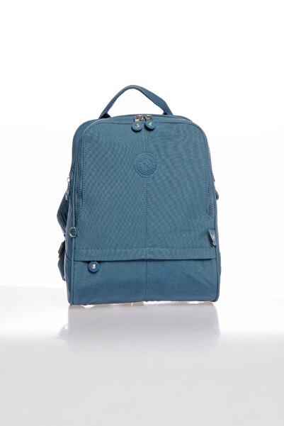 SMART BAGS Smbky1117-0050 Buz Mavi Kadın Sırt Çantası