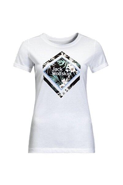Jack Wolfskin Tropical Square T W Organik Pamuk T-shirt