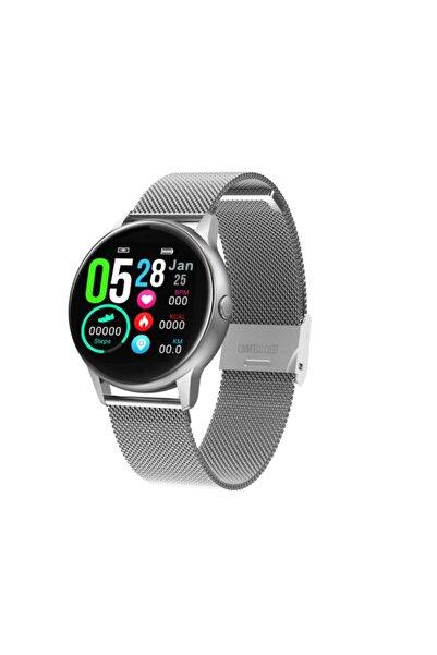 hesaplısıburda Dt88 Akıllı Saat Smart Watch Adım Sayar Nabız Ölçer Metal Kordon