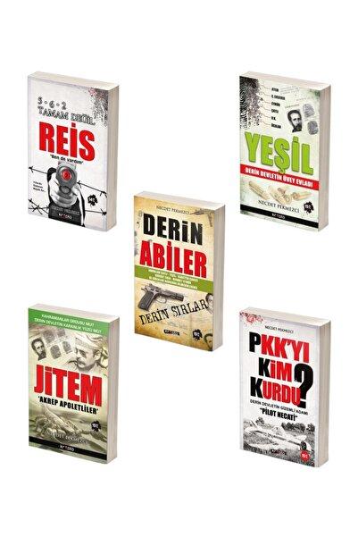 Kripto Basım Yayın Derin Devlet Kitap Seti / 5 Kitap / Çatlı, Yeşil, Pilot Necati, Ağar, Jitem