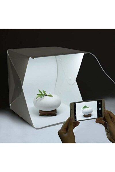 Skygo Ürün Çekim Çadırı Mini Fon Fotoğraf Stüdyosu Ledli Işık Perdesi