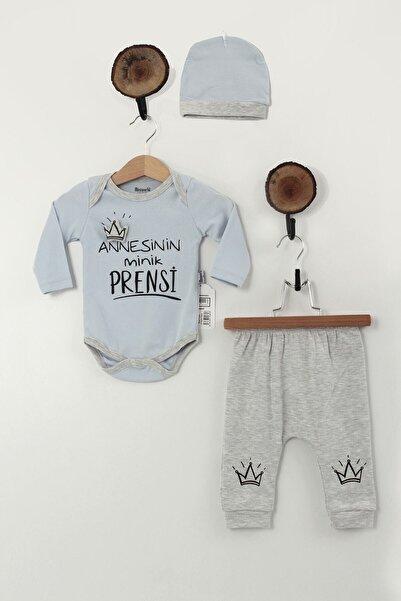 Miniworld Erkek Bebek Mavi Annesinin Minik Prensi Detaylı Takım