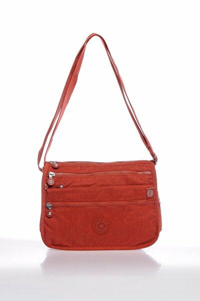 SMART BAGS Smbky1128-0128 Kiremit Kadın Çapraz Çanta