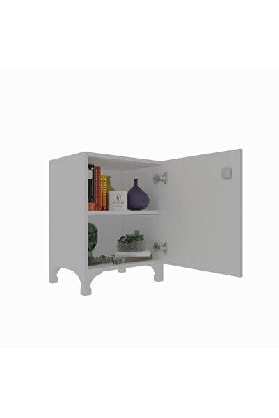 Kenzlife Mutfak Dolabı Zehra 048*030*032 Byz Kilitli Ayaklı Banyo Evrak Ofis Kitaplık Ayakkabılık Kiler