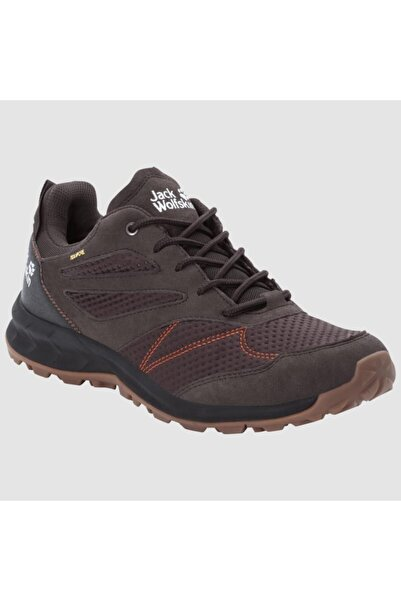Jack Wolfskin 4039211 Woodland Texapore Low M Espresso/dark Red Erkek Outdoor Ayakkabı