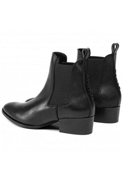 Tommy Hilfiger Pın Logo Mıd Heel Chelsea Boot