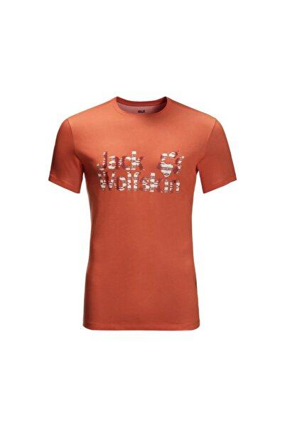 Jack Wolfskin Logo Ocean T Erkek T-shirt