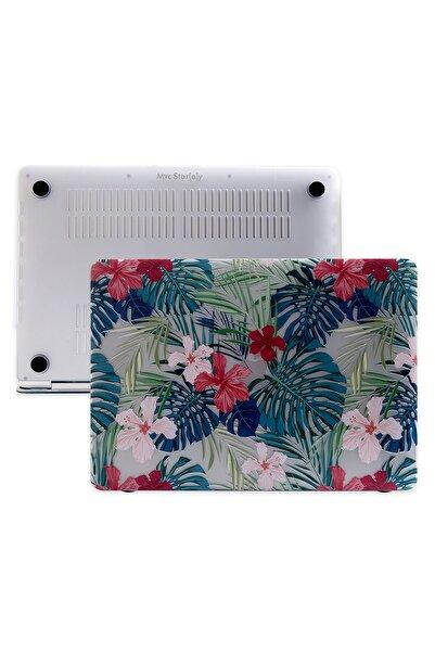 Mcstorey Macbook Air Kılıf A1932 13 Inç Uyumlu Usb-c Özel Kutulu Ürün Flower 01nl