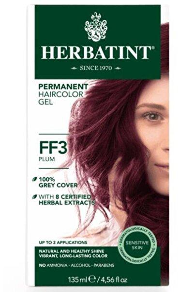 Herbatint Ff3 Plum Hair Color | Kuru Erik Saç Boyası