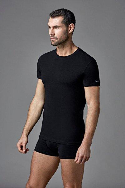 Dagi Erkek Siyah Compact O Yaka T-shirt E011000380
