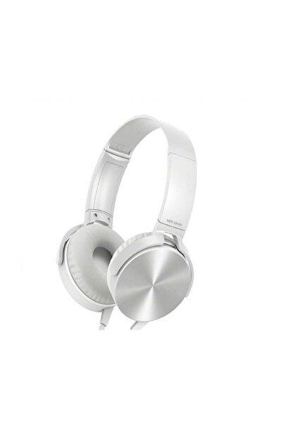 Zhuse Extra Bass Kulaklık Ses Mikrofonlu Oyuncu Gamer Stereo Sarı