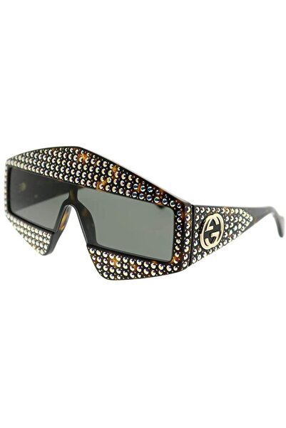 Gucci Kadın Kahverengi Güneş Gözlüğü Gg 0357s 001