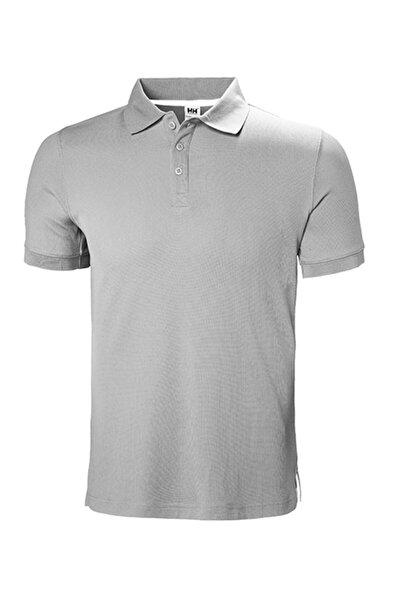 Helly Hansen Erkek Gri Polo T-Shirt