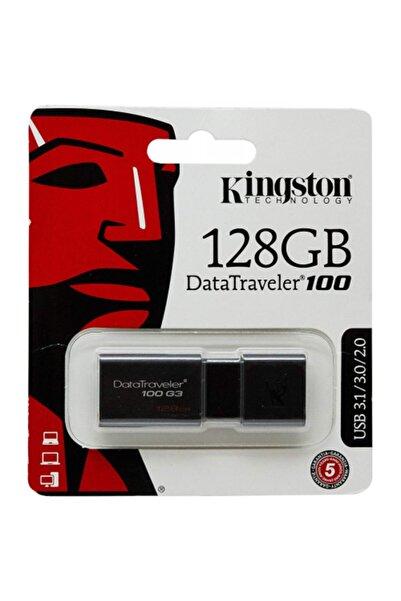 Kingston Kıngston Dt100g3/128gb 128gb Usb 3.0 Flash Disk
