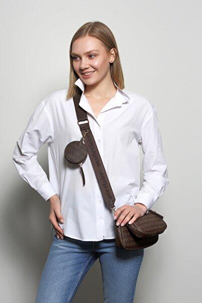 Marie Claire Kadın Kahverengi Bel Çantası Perla Mc212105014