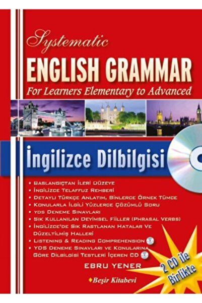 Beşir Kitabevi Systematic English Grammar Ingilizce Dil Bilgisi Cd'li