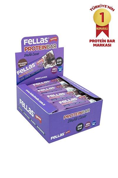 Fellas Protein Bar - Duble Kakaolu 32 gr x 12 Adet