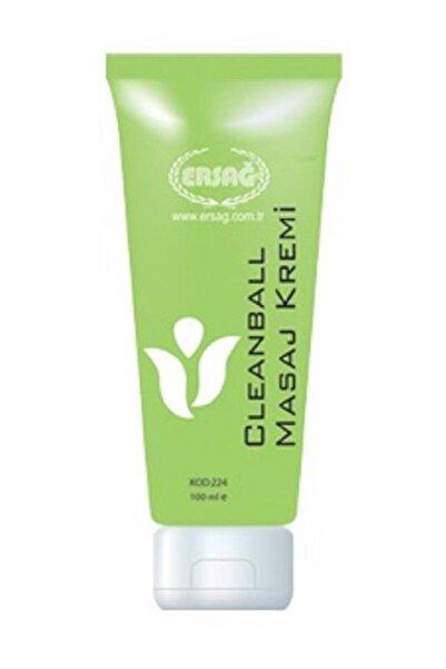 Ersağ Cleanball Masaj Kremi Yeşil Krem 100 ml