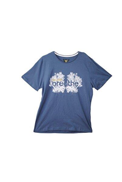 Phazz Brand T-shirt 94425-k.indigo